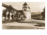 Santa Barbara Mission, California Print