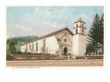 San Buenaventura Mission, California Posters