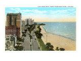 Lake Shore Drive, Chicago, Illinois Posters