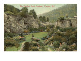 Butchart Rock Gardens, Victoria, British Columbia Posters