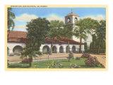 San Juan Bautista Mission, California Posters