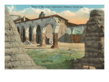 Ruins of San Juan Capistrano Mission, California Posters