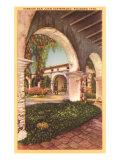 San Juan Capistrano Mission, California Posters