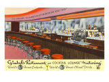 Gimbels Restaurant and Cocktail Lounge Posters