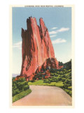 Cathedral Rock near Manitou, Colorado Posters