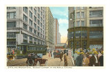 State and Madison, Chicago, Illinois Posters