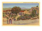 San Juan Capistrano Mission, California Poster
