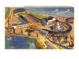 Enchanted Island Playground, Chicago World's Fair Poster