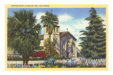 Santa Clara de Asis Mission, California Photo