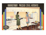 Youngstown Pressed Steel Kitchens Prints