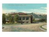 Library, Colorado Springs, Colorado Posters