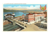 CPR Depot, Vancouver, British Columbia Posters