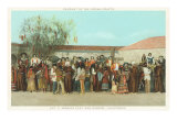 Pageant of Indian Crafts, San Gabriel Mission, California Posters