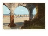 Arches, San Juan Capistrano Mission, California Posters
