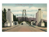 Lions Gate Bridge, Vancouver, British Columbia Posters