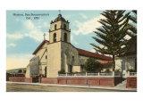 San Buenaventura Mission, California Print