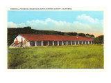 Purisima Concepcion Mission, Santa Barbara, California Posters