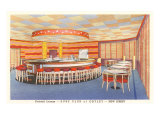 Surf Club Cocktail Lounge, Ortley, New Jersey Poster