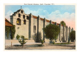 San Gabriel Mission, California Poster