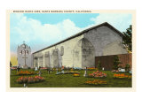 Santa Inez Mission, California Print