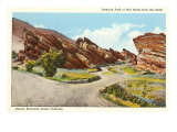 Red Rocks Park, Denver, Colorado Print