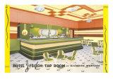 Hotel Jordan Tap Room, Glendive, Montana Posters