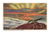 Sunrise from Pike's Peak, Colorado Posters