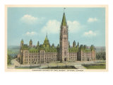 Canadian Houses of Parliament, Ottawa Print