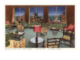 Allerton Hotel Lounge, Chicago, Illinois Posters