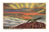 Sunrise from Pike&#39;s Peak, Colorado Posters