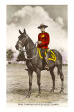Royal Canadian Mounted Police, Art Print