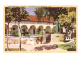 San Fernando Mission, California Print