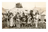 Circus Indians and Horses, 1915 Posters