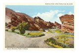 Red Rocks Park, Denver, Colorado Poster