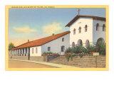 San Luis Obispo Mission, California Poster