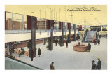 Bus Terminal, Chicago, Illinois Print