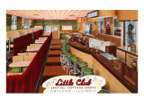 Little Club, Chicago, Illinois Posters