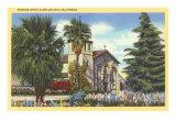 Santa Clara de Asis Mission, California Posters