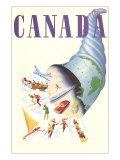 Canada Cornucopia Posters