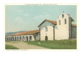 Santa Ynez Mission, California Poster