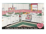 Carefree Kitchen, Crosley Advertisement Poster
