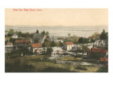 View over Essex, Connecticut Print
