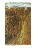 Royal Gorge Bridge, Colorado Poster