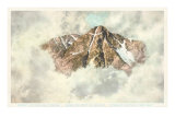 Aerial View of Mount of Holy Cross, Colorado Poster