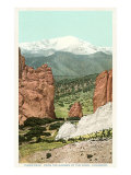 Garden of the Gods, Pike's Peak, Colorado Posters