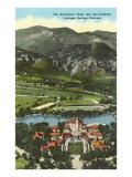 Broadmoor Hotel, Colorado Springs, Colorado Poster