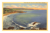 Coves, Laguna Beach, California Posters
