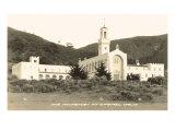 Carmel Monastery, California Print