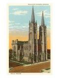 Cathedral, Denver, Colorado Print