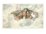Aerial View of Mount of Holy Cross, Colorado Posters